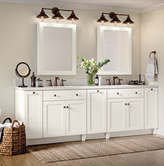 Strange Thomasville Design Your Room Bathroom Cabinets Home Interior And Landscaping Elinuenasavecom