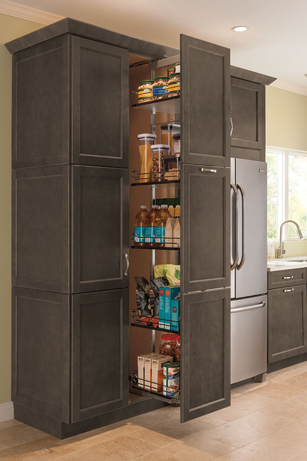 wooden thomasville cabinets kitche design | Thomasville - Organization - Tall Pantry Pull Out Cabinet