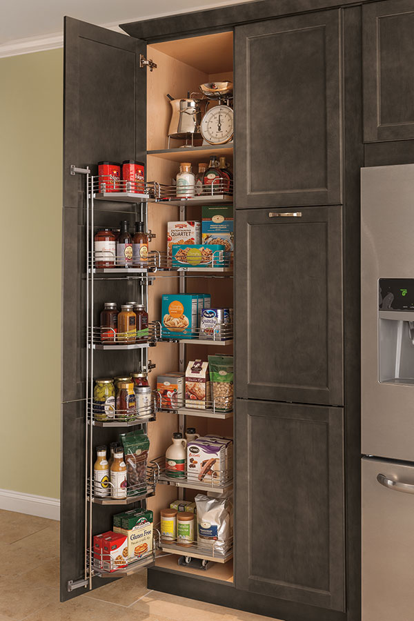 Tall Pantry Unit, Tall Sliding Kitchen Cabinets