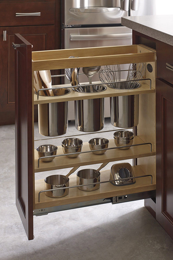 UTENSIL PANTRY PULLOUT CABINET