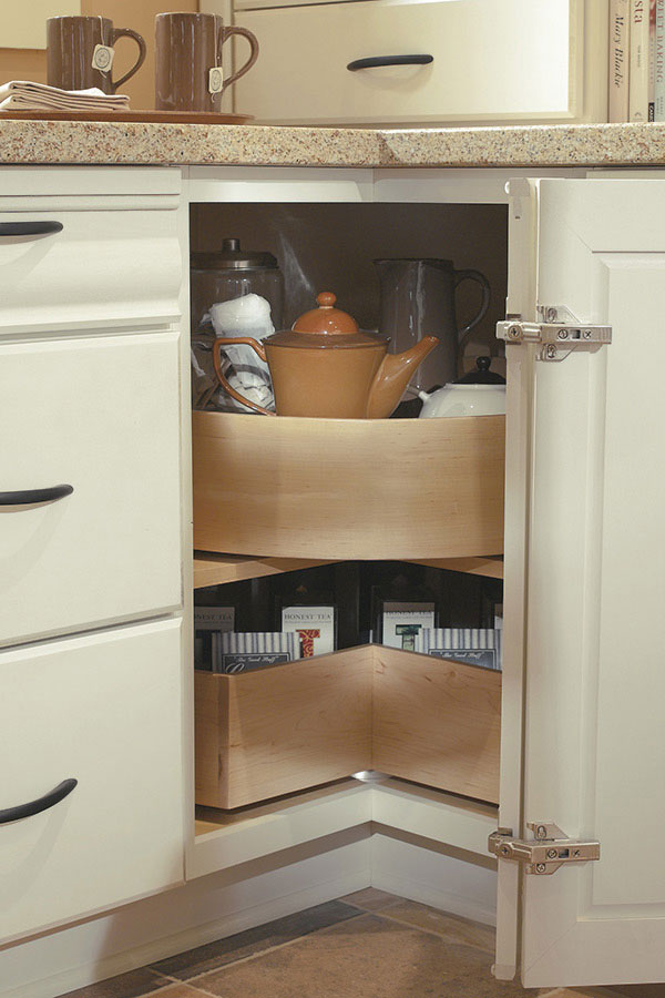 Thomasville Kitchen Cabinets >> Thomasville - Organization - BASE DEEP BIN LAZY SUSAN
