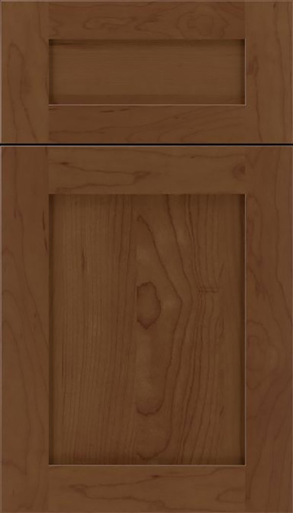 Salem 5pc Maple shaker cabinet door in Sienna