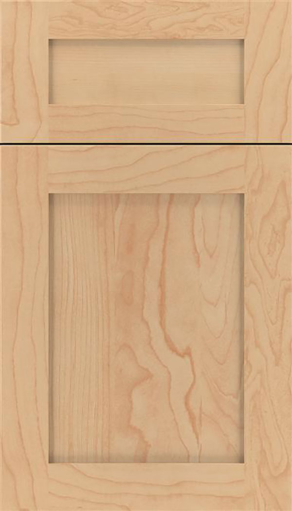 Salem 5pc Maple shaker cabinet door in Natural