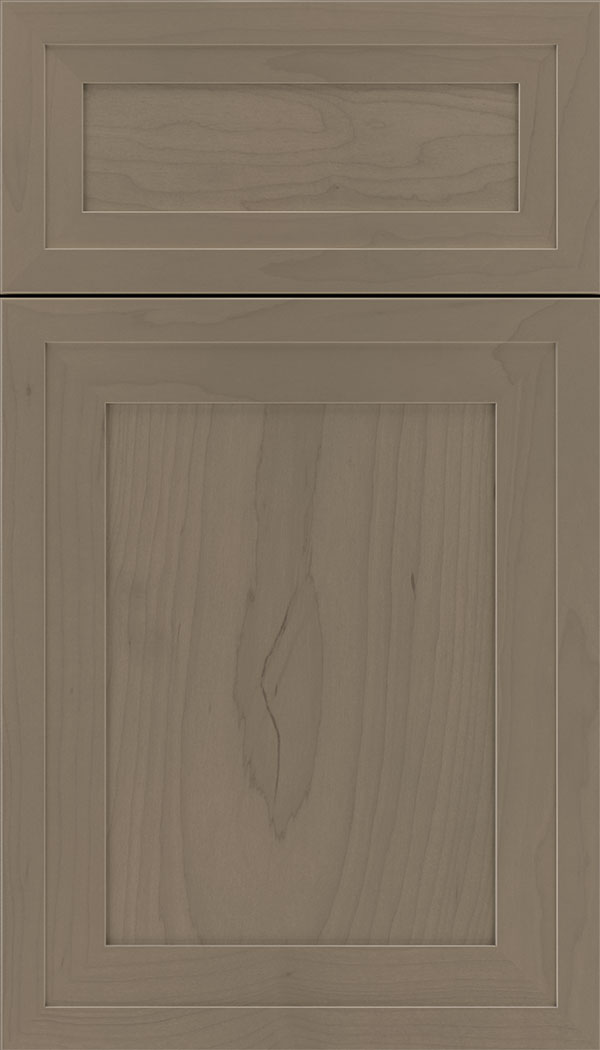 Asher 5pc Maple flat panel cabinet door in Winter