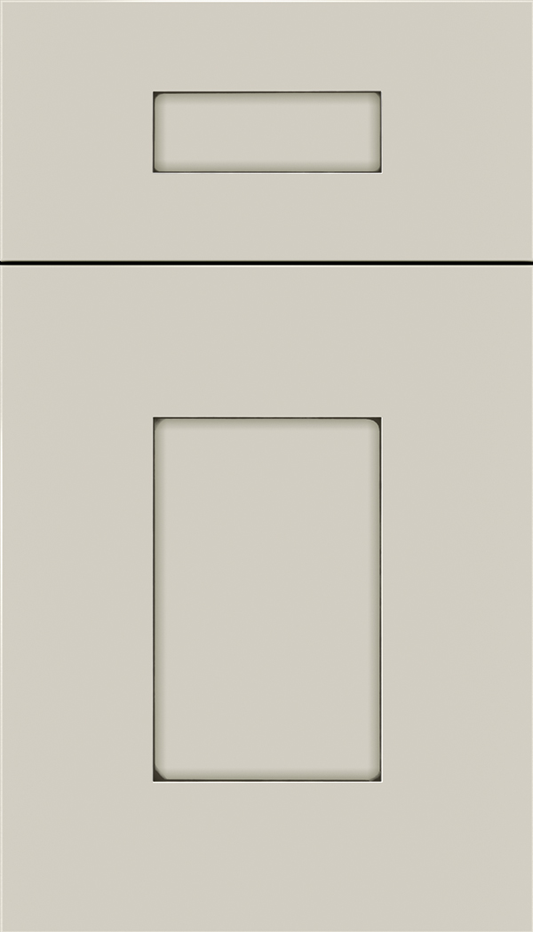 Newhaven 5pc Maple shaker cabinet door in Cirrus with Smoke glaze
