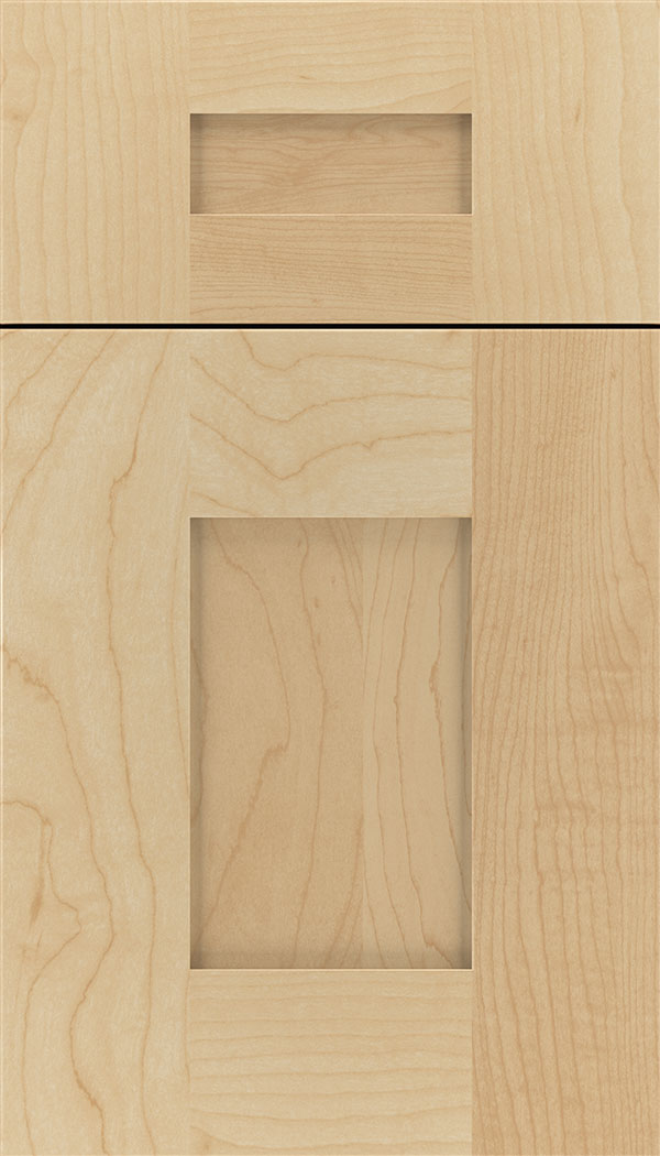 Newhaven 5pc Maple shaker cabinet door in Natural