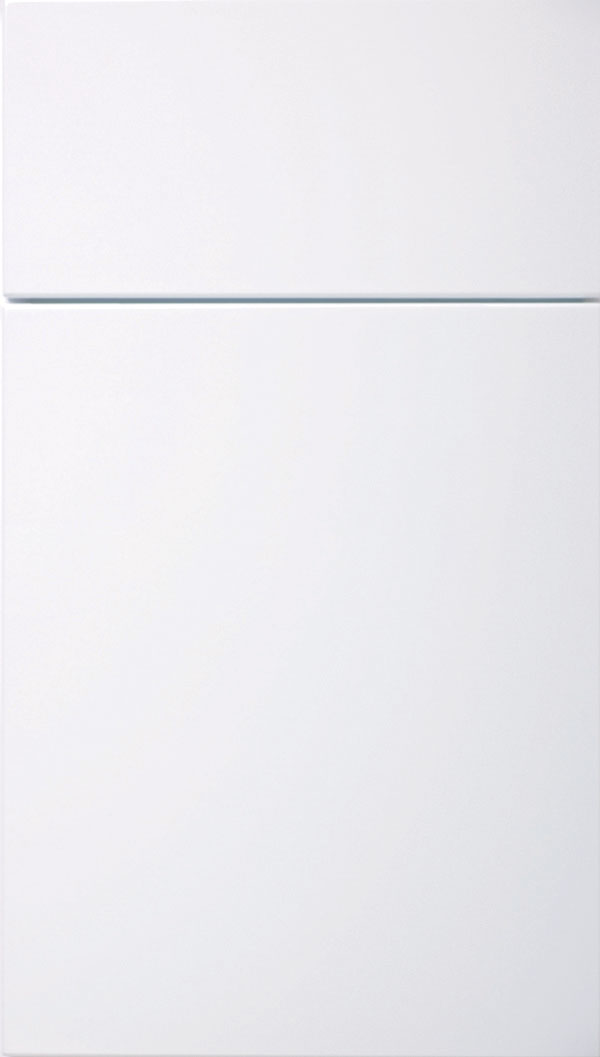 Calvi MDF cabinet door in White