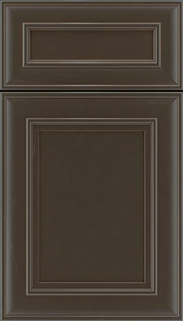 Sheffield 5pc Maple recessed panel cabinet door in Thunder