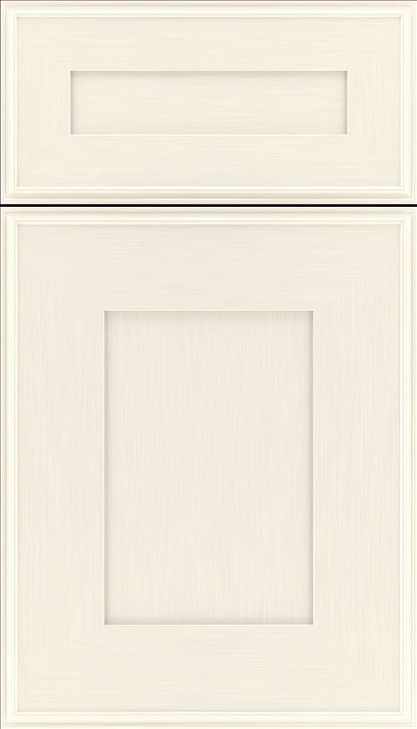 Elan 5pc Maple flat panel cabinet door in Millstone