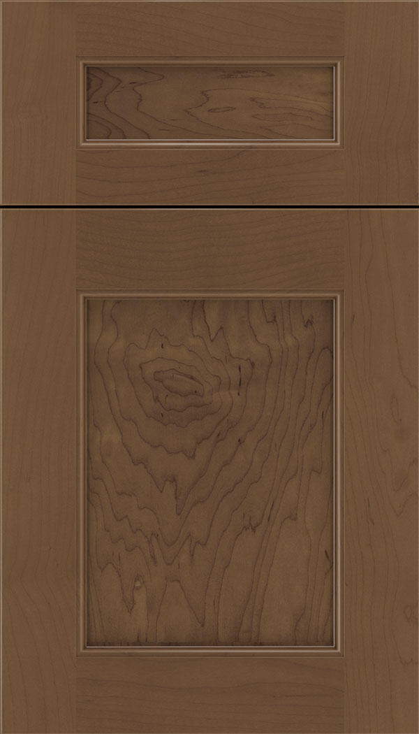 Lexington 5pc Maple recessed panel cabinet door in Toffee