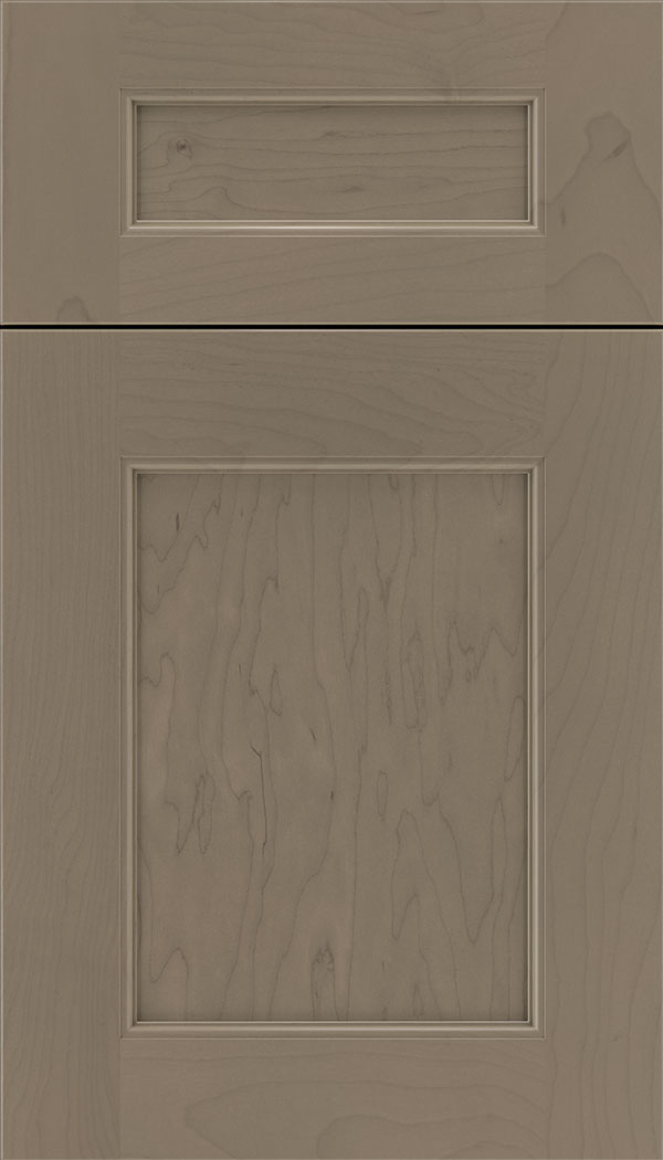 Lexington 5pc Maple recessed panel cabinet door in Winter