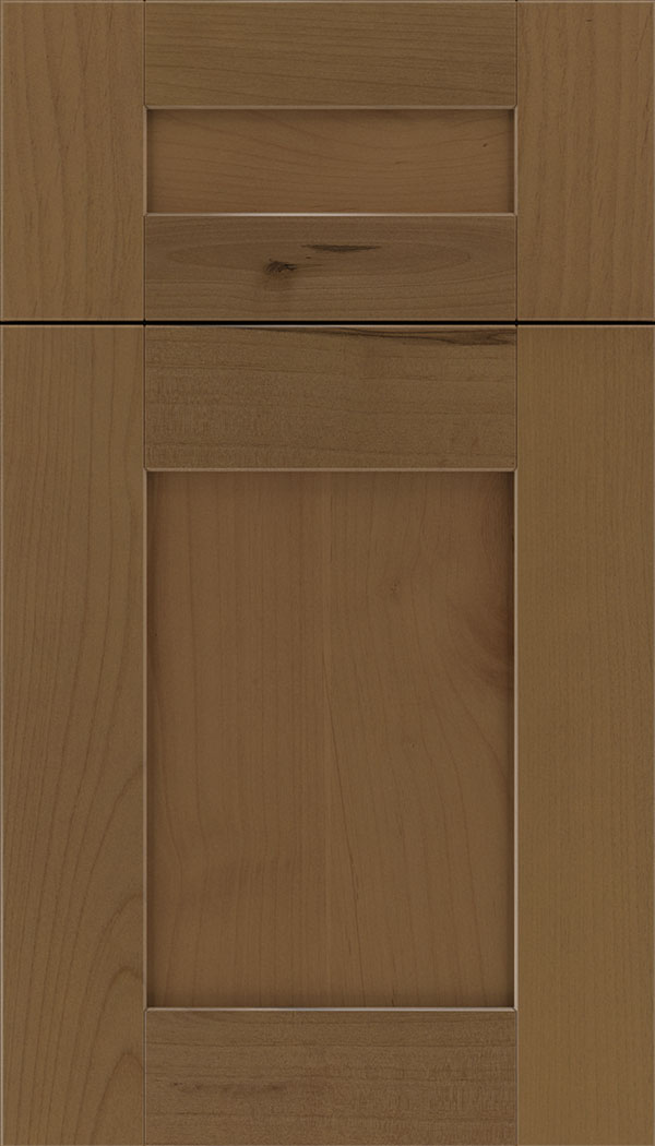 Pearson 5pc Alder flat panel cabinet door in Tuscan