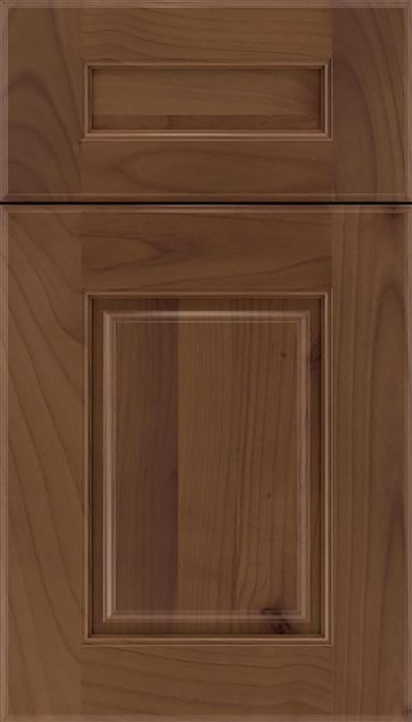 Whittington 5pc Alder raised panel cabinet door in Sienna