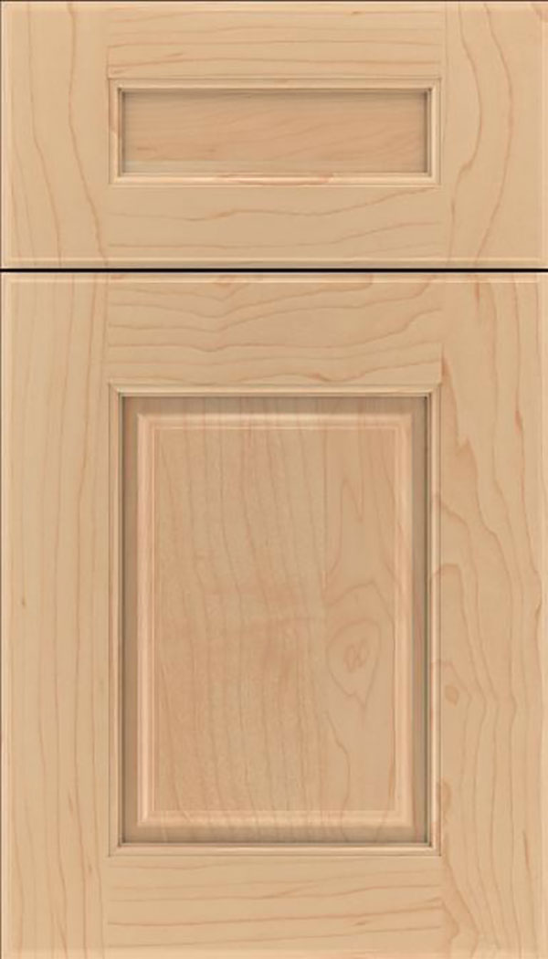 Whittington 5pc Maple raised panel cabinet door in Natural