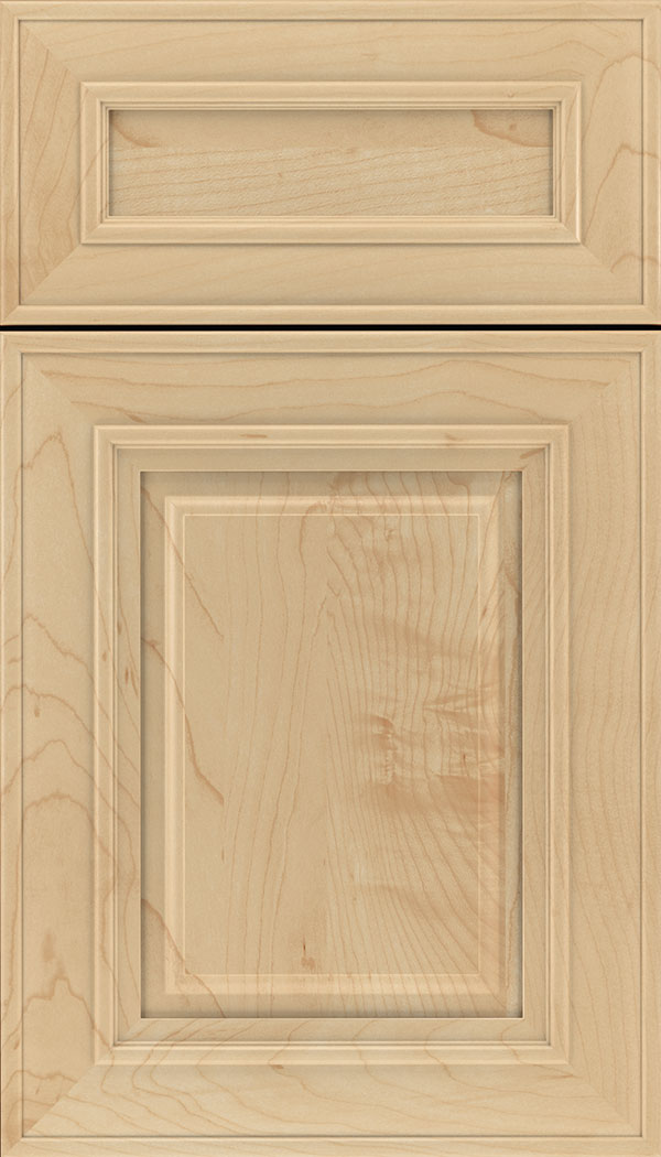 Regency 5pc Maple raised panel cabinet door in Natural