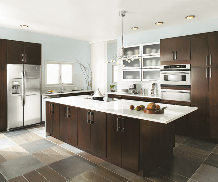 Contemporary kitchen cherry chocolate
