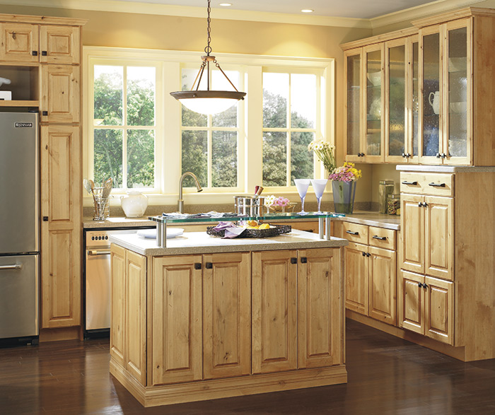 Interior Natural Cabinets thomasville finishes natural on alder casual kitchen 2