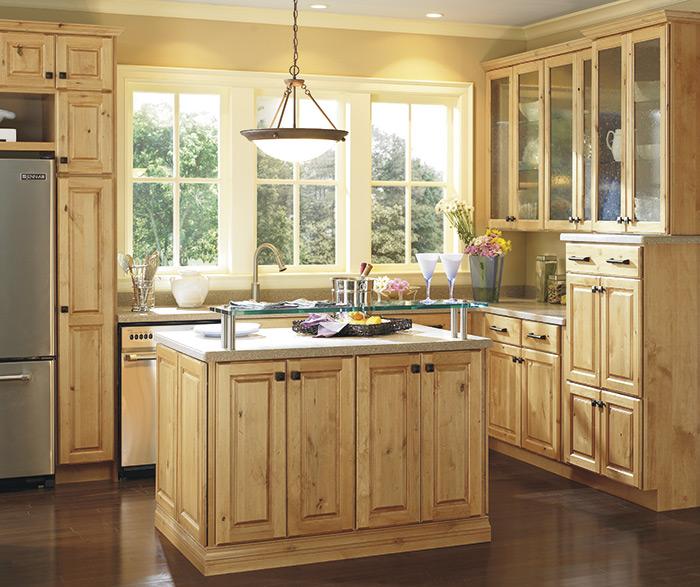 ... Casual kitchen alder natural 2 ... & Thomasville - Finishes - Natural on Alder