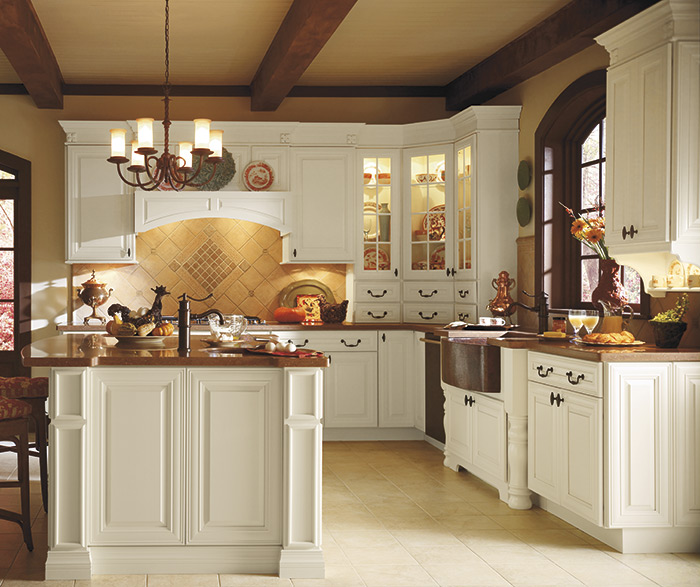 Traditional kitchen maple cotton 2