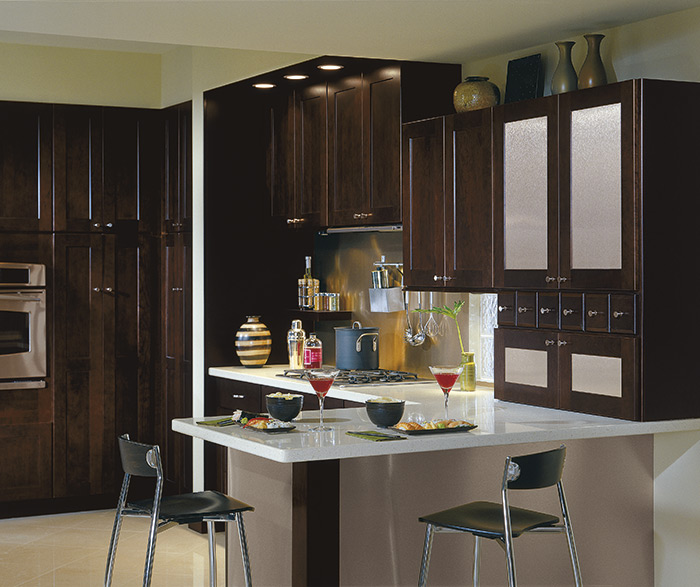 Contemporary kitchen cherry chocolate 3