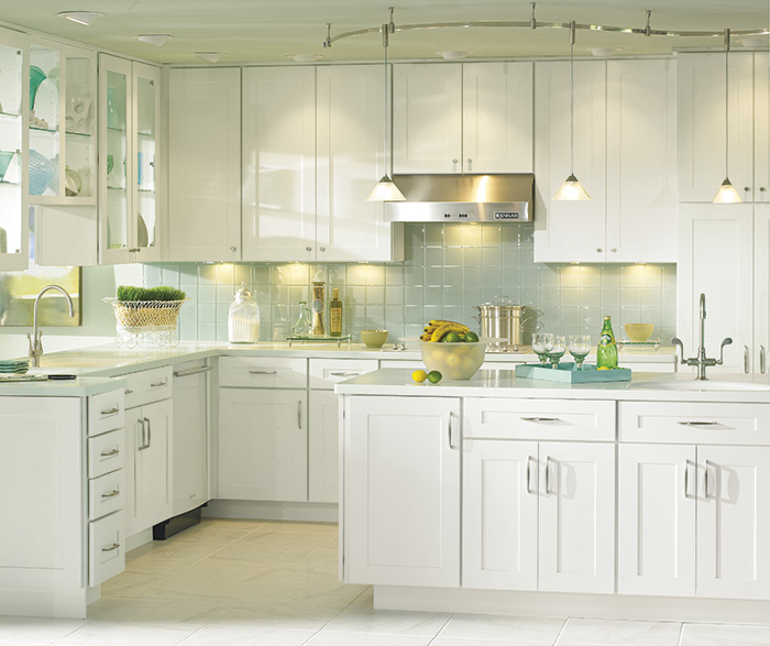 Traditional kitchen maple white 4