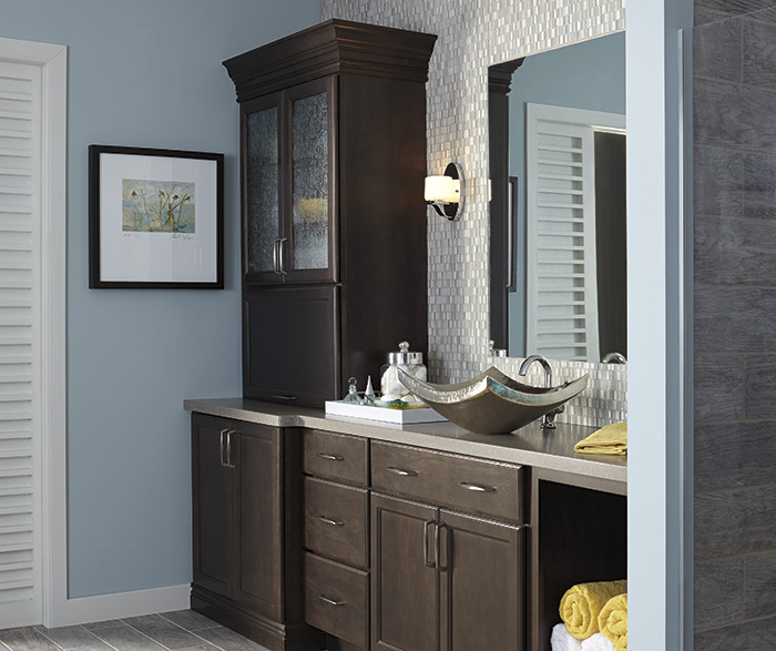 ... Contemporary Bathroom Maple Trestle 3 ...