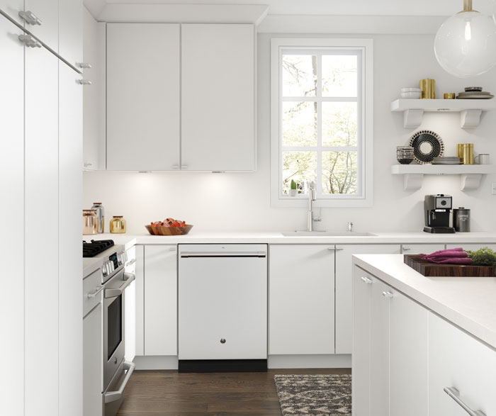 Casual kitchen maple white 2
