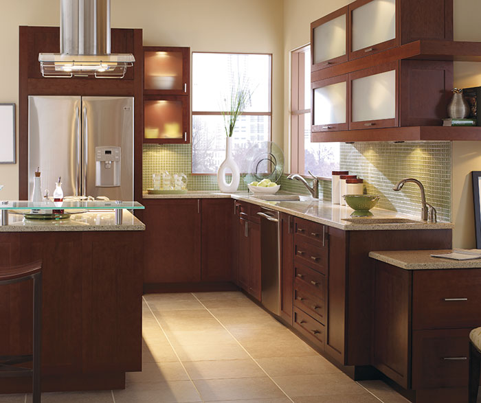 Contemporary Kitchen Cherry Rhubarb K2