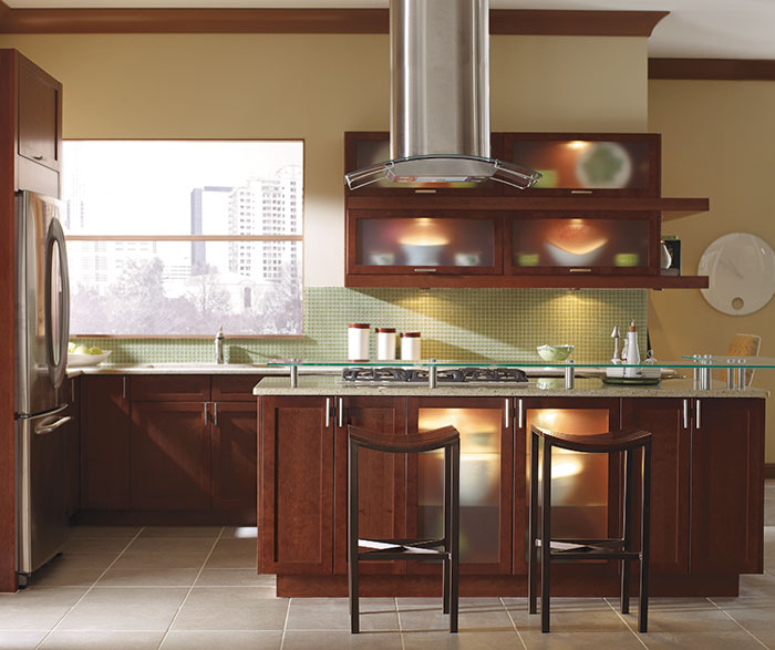 Contemporary Kitchen Cherry Rhubarb K3