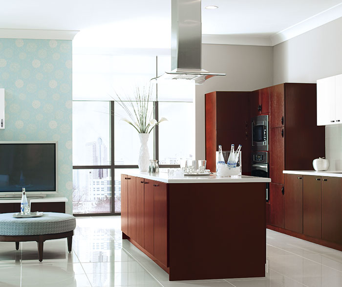 Contemporary Kitchen Cherry Mulberry K2