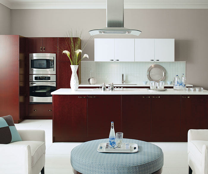 Contemporary Kitchen Cherry Mulberry
