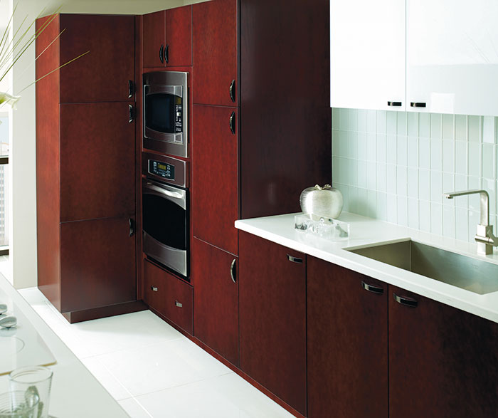 Contemporary Kitchen Cherry Mulberry K4