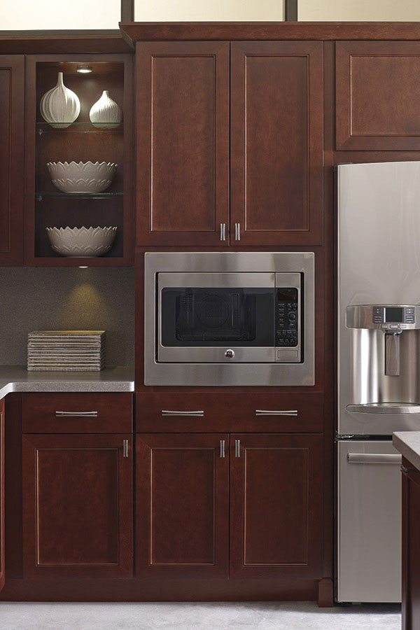 Thomasville Specialty Products Built In Microwave Cabinet